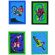 "Sand Art Boards 5""x7"" - Extreme Sports  (pack of 12)"