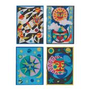 Celestial Sand Art Boards  (pack of 12)