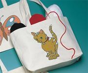 Preprinted Tote Bag - Kitty