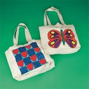 Preprinted Tote Bag - Butterfly
