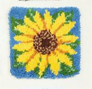 Latch Hook Kit, 12x12 - Sunflower