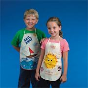 Color-Me Apron, Child Size
