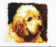 Latch Hook Kit, 12x12 - Puppy Love