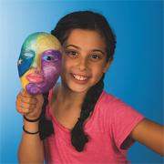 Color-Me Foam Face Mask  (pack of 12)