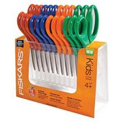 Fiskars� Scissors for Kids - Pointed Tip  (pack of 12)