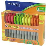 Westcott 5&quot; Scissors for Kids, Pointed Tip  (pack of 12)