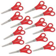 Red Handle Safety Scissors 5-1/2&quot; (pack of 12)