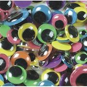 Assorted Wiggly Eyes  (pack of 100)