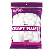 Triple-size Craft Fluffs  (bag of 100)