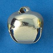 "3/4"" Silver Jingle Bells (pack of 24)"