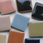 "Mosaic Tile 7/8"", 1lb. Assorted Colors"