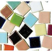 "3/4"" Luster Tile Squares 10-lb  (bag of 1000)"