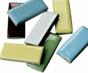 1&quot;x1/2&quot; Mosaic Tile Shapes - Rectangle, 5lb.  (bag of 580)