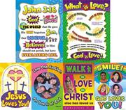 &quot;God is Love&quot; Posters  (set of 6)