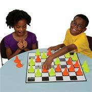 Construction Checkers Game
