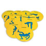 Teach 'N Train Fitness Spots (set of 11)