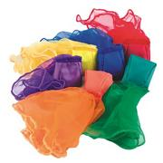 Spectrum� Beanbag Scarves (pack of 6)