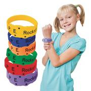 P.E. Rocks Award Bracelets (pack of 24)