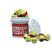 Quick Start 36 Tennis Balls (bucket of 60)