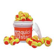Quick Start 60 Tennis Balls (bucket of 72)