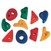 Intermediate Climbing Handholds (set of 10)
