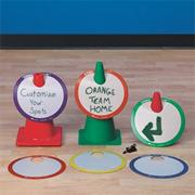 Spectrum� Cone Bibs (set of 6)