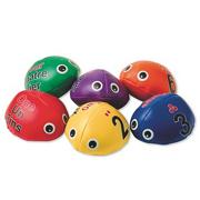 Ladybug Sequencing Beanbags (set of 6)