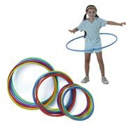 Spectrum� Economy Candy-Striped Hoops (pack of 12)