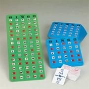 Easy Play Bingo Pack with 25 cards