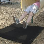 Rubber Swing and Slide Mat