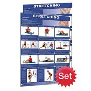 Stretching Poster Set (set of 2)