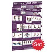Resistance Tubing Poster Set (set of 2)