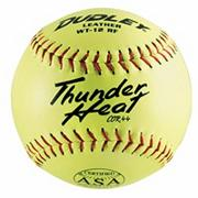 Dudley Thunder ASA Slow Pitch Softball Leather 12&quot; WC12RF