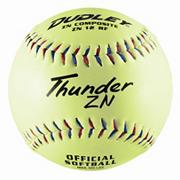 "Dudley� Thunder ZN USSSA Slow Pitch Soft Ball 12"" ZN12RFY"