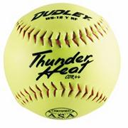 Dudley Thunder ASA Slow Pitch Softball 12&quot; WS12YRF