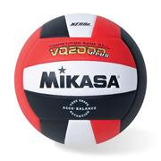 Mikasa� Competition Volleyball, Red/White/Black
