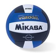 Mikasa� Competition Volleyball, Royal/Black