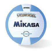 Mikasa� Competition Volleyball, Columbia Blue/White