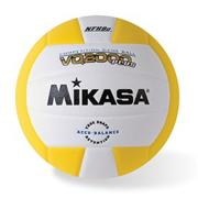 Mikasa� Competition Volleyball, Gold/White