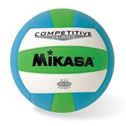 Mikasa� VSL215 Volleyball Green/Blue