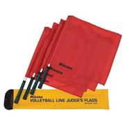 Mikasa� Volleyball Line Judge Flags (set of 4)