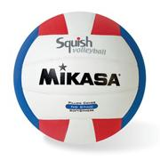 MikasaSquish Volleyball Red/White/Blue