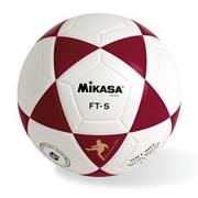 Mikasa� FT5 Soccer Ball Size 5 Red/White