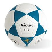 Mikasa� FT5 Soccer Ball Size 5 Blue/White