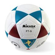 Mikasa FT5 Soccer Ball Size 5 Red/White/Blue
