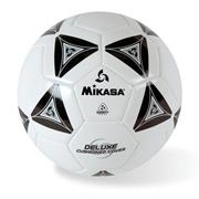 Mikasa Soft Soccer Ball Size 5 Black/White