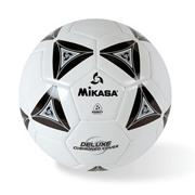 Mikasa� Soft Soccer Ball Size 4 Black/White