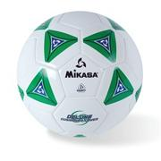 Mikasa Soft Soccer Ball Size 4 Green/White