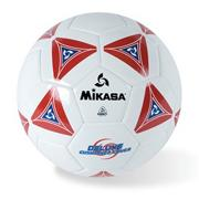 Mikasa Soft Soccer Ball Size 5 Red/White