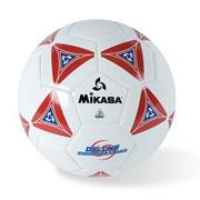 Mikasa Soft Soccer Ball Size 4 Red/White